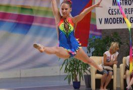 Postup na MČR vmoderní gymnastice