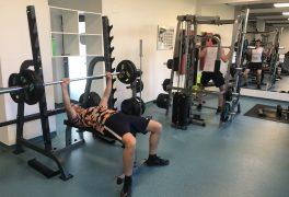 Nové vybavení fitness