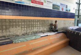 V Městských lázních probíhají opravy